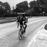 The loneliness of the long-distance cyclist: Tommy digs in to another day in the saddle